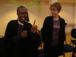 Juliana Rotich of Ushahidi, Karen Reilly of TOR