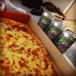 Pacquiao Fight: Pepperoni Pizza+Heineken | Rite Pizza