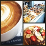 Dean & Deluca - My first ever Sunday Brunch (Tidbit: Instagram-ing is legit in Bangkok. No one's gon' judge you for it)