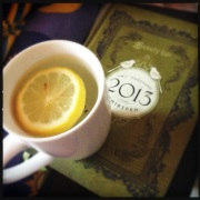Lemony water and the Food Journal