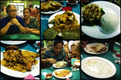 Mom vs Food - Ayam Goreng at Nonya Suharti Restaurant